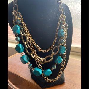 Rachel Reinhardt Turquoise Layered Necklace